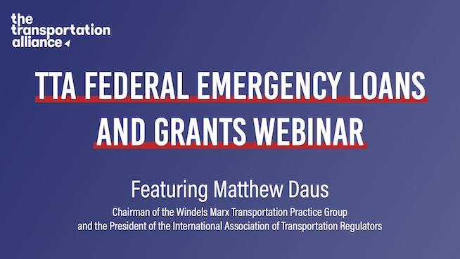 Photo: Federal Emergency Loans & Grants Webinar